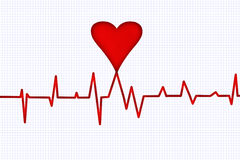 сердцебиение Стоковое фото RF