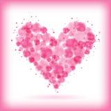 Сердце акварели Стоковая Фотография RF