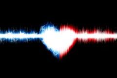 Сердце американца Стоковая Фотография RF