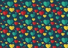 сердце безшовное Стоковая Фотография