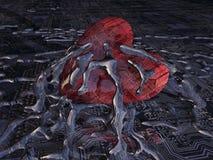 сердце бита Стоковое Изображение