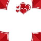 Сердце валентинки Стоковые Изображения