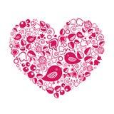 Сердце валентинки Иллюстрация вектора
