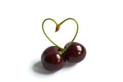 Сердце вишни Стоковое Фото