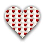 Сердце вполне малых сердец томата Стоковое Изображение RF