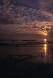 Сердце в песке 2 Стоковое Фото