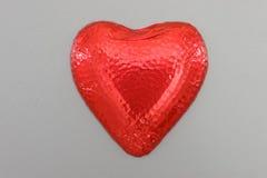Сердце влюбленности шоколада стоковое изображение