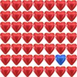 Сердце влюбленности шоколада стоковые фото