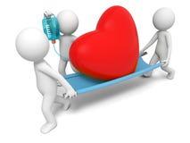 Сердце, влюбленность Стоковая Фотография RF