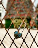 Сердце замка влюбленности Стоковая Фотография RF