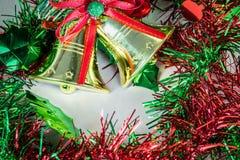 Сердце, звезда, орнамент рождества и украшение стоковая фотография rf
