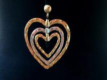 Сердце золота сток-видео