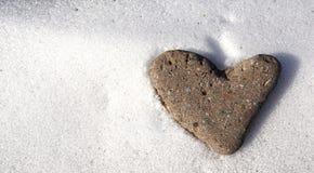 Сердце камня Стоковые Фото