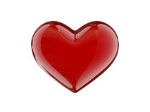 сердце карамельки Стоковое Изображение
