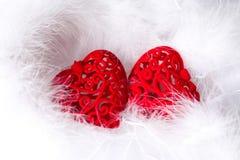 Сердце карточки Стоковые Фото