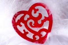 Сердце карточки Стоковое фото RF