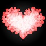 Сердце круга вектор 5 Стоковые Фотографии RF