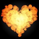 Сердце круга вектор 3 Стоковое Изображение RF