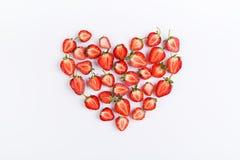 Сердце клубник Стоковое фото RF