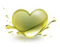 Сердце масла Стоковое фото RF