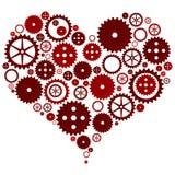 сердце механически Стоковые Фото