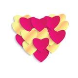 сердце мое портфолио к гостеприимсву valentines Стоковая Фотография RF