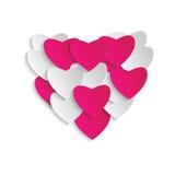 сердце мое портфолио к гостеприимсву valentines Стоковые Изображения RF