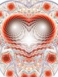 Сердце мозаики Стоковые Фотографии RF