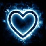 Сердце молнии Стоковое Изображение