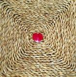 Сердце на соломе Стоковое Изображение