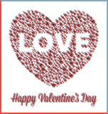 сердце дня валентинок влюбленности 3D иллюстрация штока