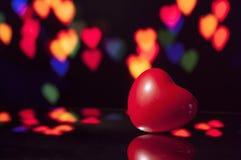 Сердце дня валентинок Стоковая Фотография RF