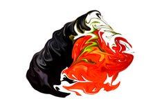 Сердце отравы абстракция Стоковые Изображения RF