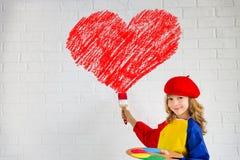 сердце подарка дня принципиальной схемы голубой коробки предпосылки схематическое изолировало valentines quill жизни письма ювели Стоковая Фотография RF