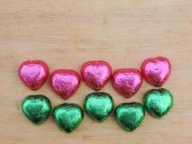 Сердце, предпосылка валентинки Стоковые Изображения RF
