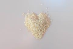 Сердце риса стоковое изображение