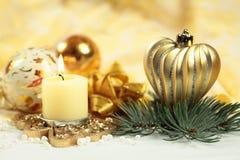 Сердце рождества Стоковые Изображения