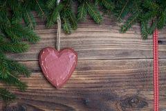 Сердце рождества Стоковая Фотография RF