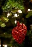 Сердце рождества Стоковые Фото
