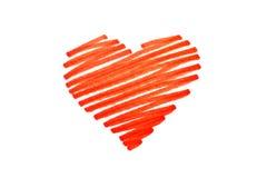 Сердце ручки стоковые фото