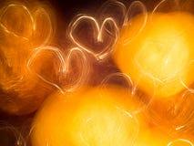Сердце света Стоковые Фотографии RF