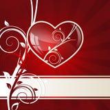Сердце свирли Стоковые Фотографии RF