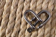 Сердце сережки Стоковое Фото
