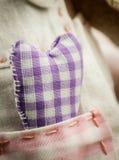 Сердце ткани Стоковые Изображения