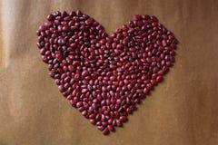 Сердце фасолей Стоковые Фото