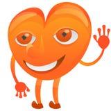 Сердце характера дружелюбное иллюстрация штока