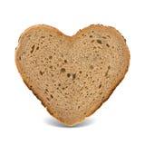 Сердце хлеба Стоковое Изображение RF