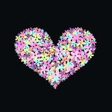 сердце цветка Стоковое фото RF