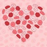 Сердце цветков Стоковые Фото