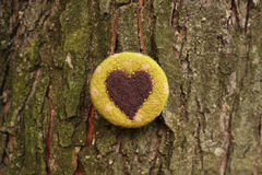 Сердце шерстей Стоковые Фото